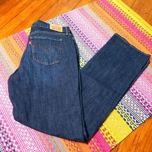 Levis 505 straight fit womens sz 12